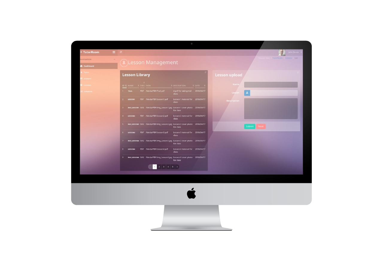 Virtual Classroom LMS