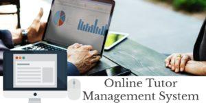 online tutor management system