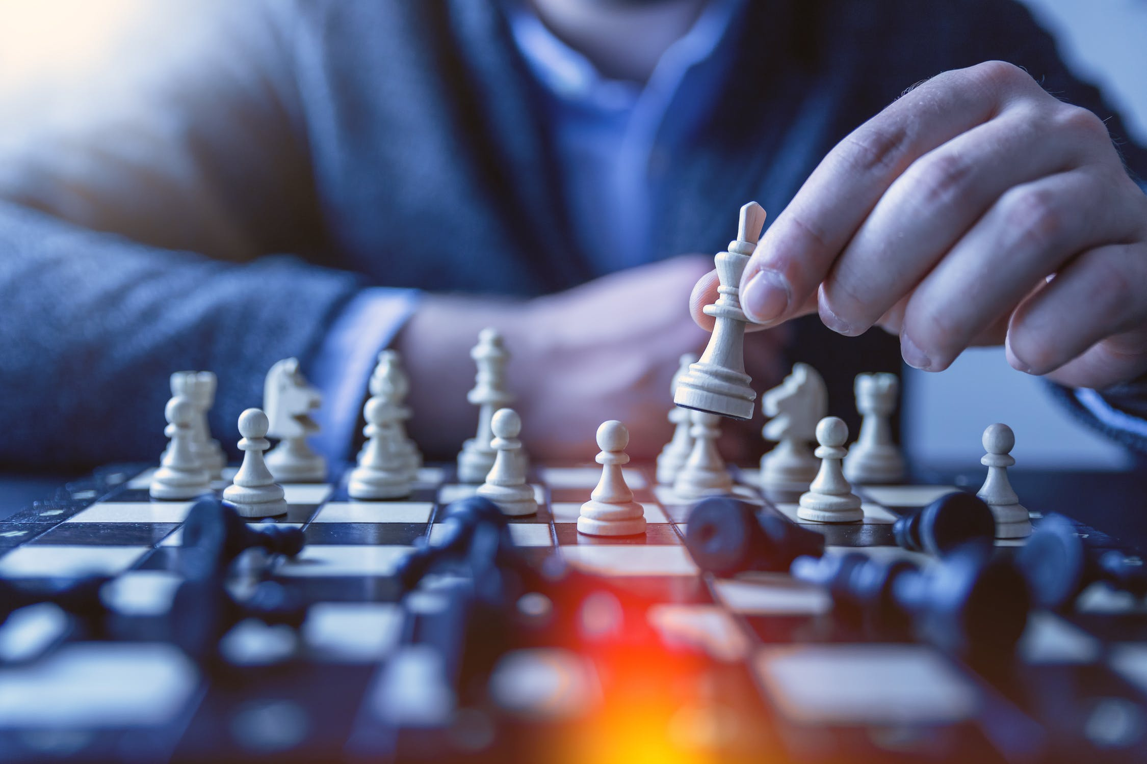 Playing chess is the same as some aspect of tutoring business