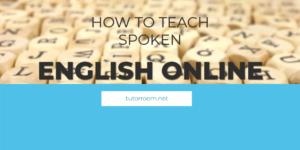 spoken English to beginners