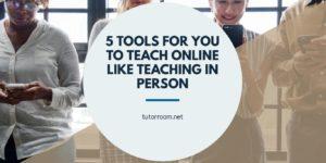 online tutoring tools examples
