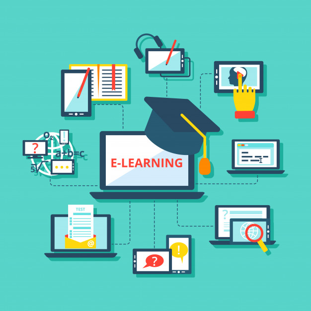 online learning concept and tools