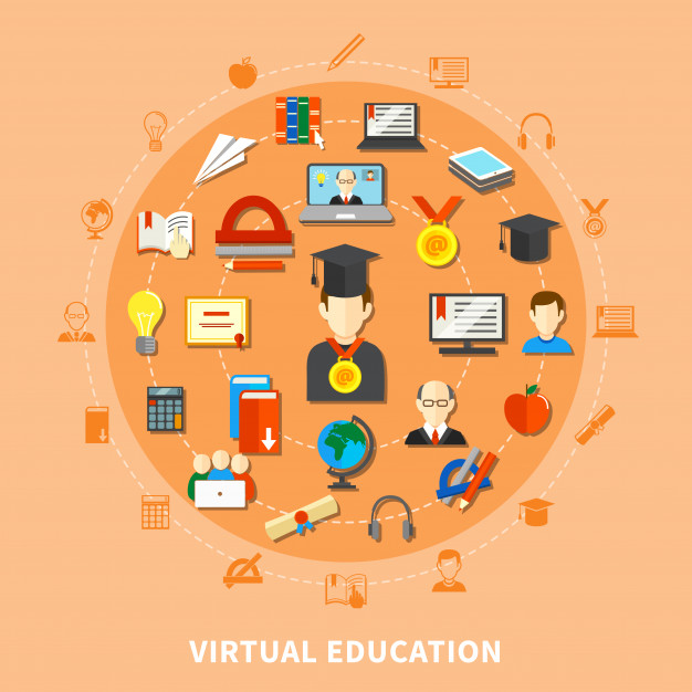 virtual classroom concept of webex